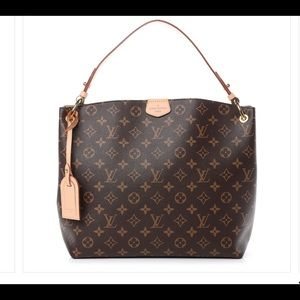 Authentic Louis Vuitton Graceful MM with Strap.
